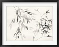 Framed Bamboo Leaves II