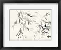 Framed Bamboo Leaves II
