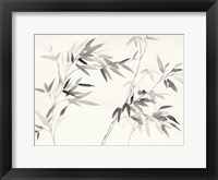 Framed Bamboo Leaves I