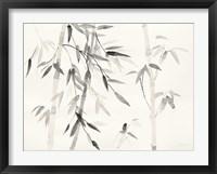 Framed Bamboo Leaves III