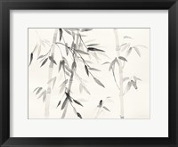 Framed Bamboo Leaves III