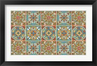 Framed Mediterranean Flair XX