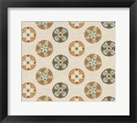 Framed Spice Suzani Patterns II