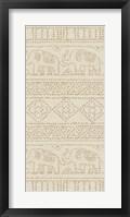 Framed Batik I Patterns