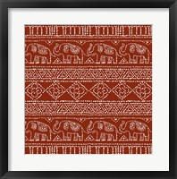 Framed Batik Pattern IM