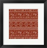 Framed Batik Pattern IM
