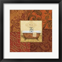 Framed Spice Bath I
