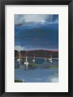 Framed Coastal Display III