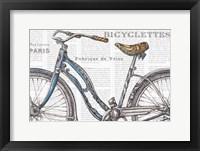 Framed Bicycles IV