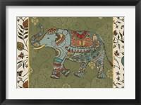 Framed Elephant Caravan IIF
