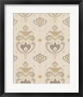 Framed Ikat Beauty Patterns