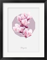 Framed Poly Magnolia
