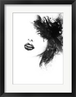 Framed Shadow Girl