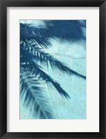 Framed Turquoise Shadow
