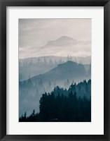 Framed Blue Mountains I