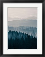 Blue Mountains II Framed Print