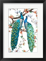 Framed Paradis Birds I