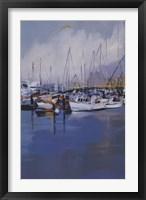 Framed Along The Quay
