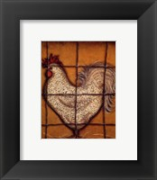 Framed Spotted Rooster