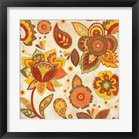 Framed Fun Florals Spice Crop