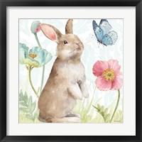 Framed Spring Softies Bunnies II
