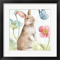 Framed Spring Softies Bunnies II
