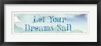 Framed Sea Life Sentiment I