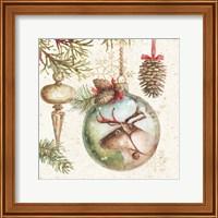 Framed Woodland Holiday III