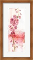 Framed Rainbow Seeds Absract Floral I