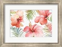 Framed Tropical Blush I