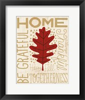 Framed Family Tree Leaf II