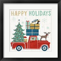 Framed Holiday on Wheels III