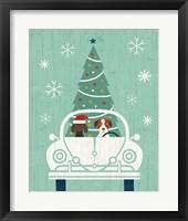 Framed Holiday on Wheels XIII