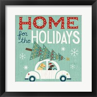 Holiday on Wheels I Framed Print