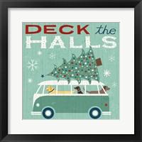 Holiday on Wheels IV Framed Print