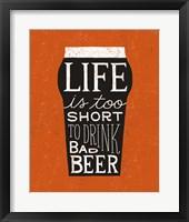 Craft Beer I Framed Print