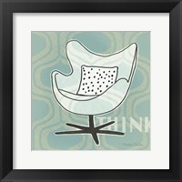Framed Retro Chair II Think