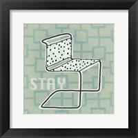 Framed Retro Chair III Stay