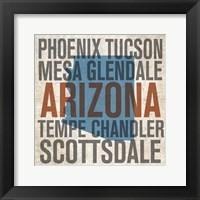 Framed Arizona Chandler