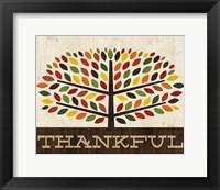 Framed Family Tree - Thankful