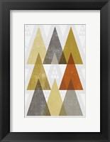Framed Mod Triangles IV Retro