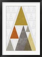 Framed Mod Triangles III Retro