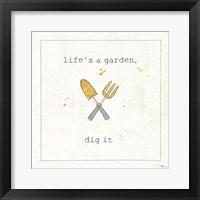Framed Garden Notes II
