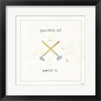 Framed Garden Notes VIII