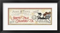 North Pole Express VI Framed Print
