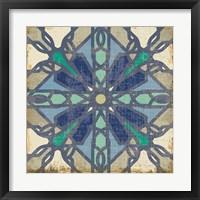 Framed Santorini Tile IV