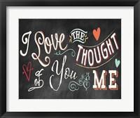 Framed You and Me I Color