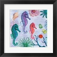 Tropical Underwater II Framed Print