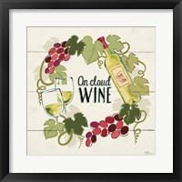 Wine and Friends VIII Framed Print