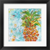 Framed Pineapple Bright